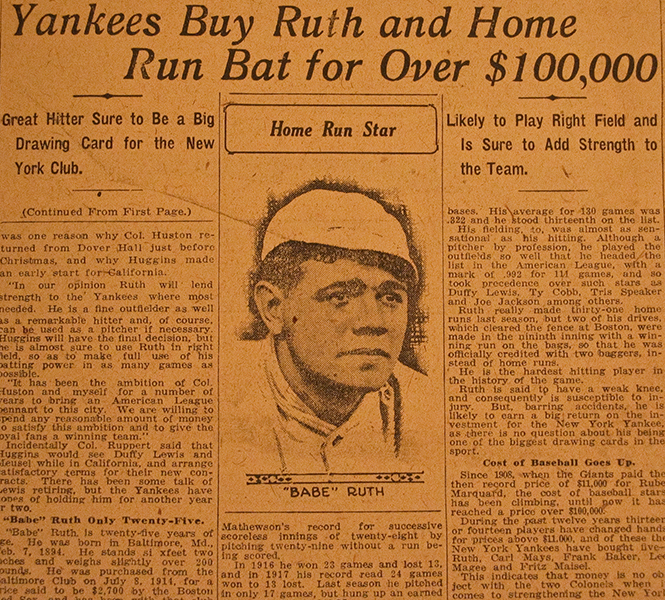 babe ruth research paper
