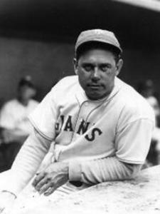 Bill Terry wasn't a media during his playing and managerial career with the Giants.