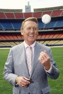 Is there a more qualified judge of baseball history than Vin Scully?