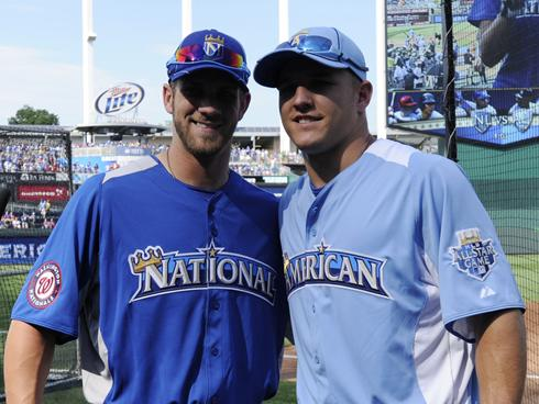 Harper and Trout are just two of MLB's very young and very bright stars.