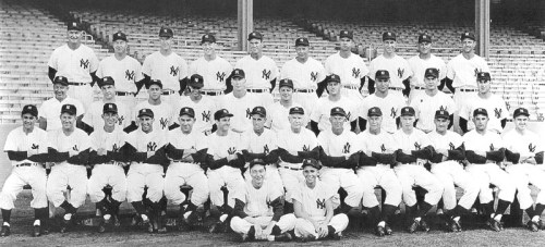 The 1953 Yankees drive for five straight World Series titles was temporarily sidetracked by a nine game losing streak, the longest ever by an eventual champion.