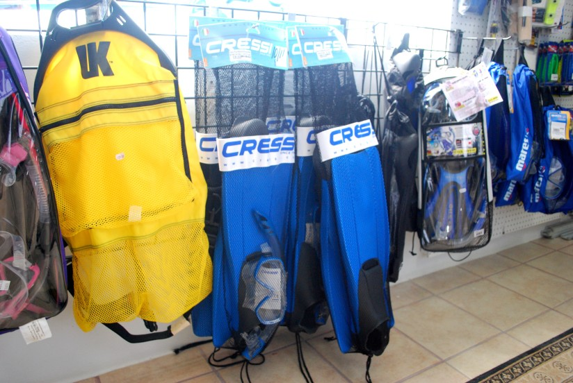 Dive and Snorkel Gear
