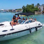 Used 24ft Celebrity Boat with 250 H Mercury Engine