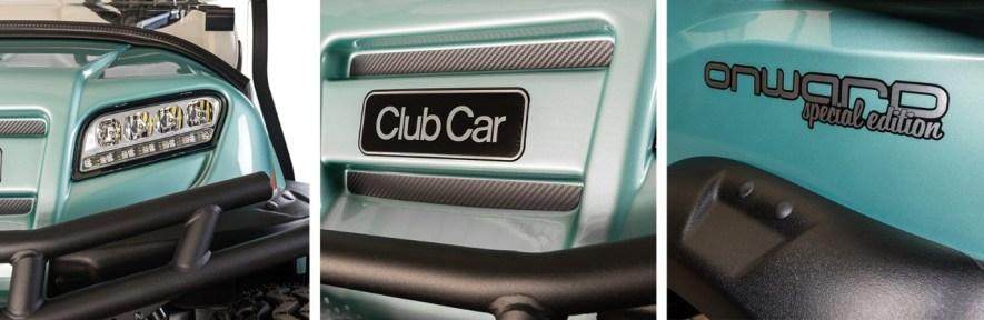 Club Car Sea Foam Onward Special Edition Golf Cart