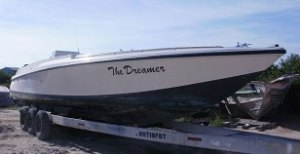 """Used """"The Dreamer"""" 38ft Boat"""