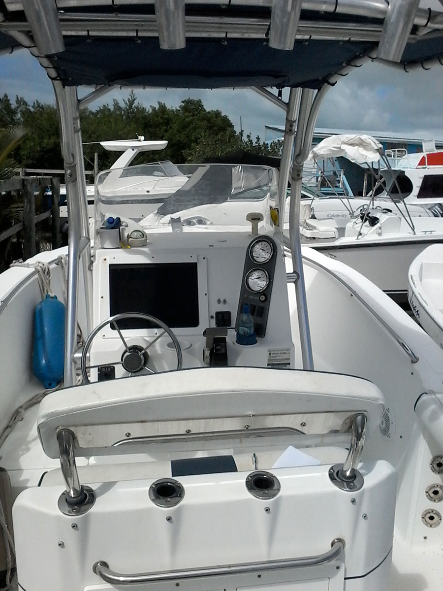 Used 22ft Boat with Enging - Polar Storm