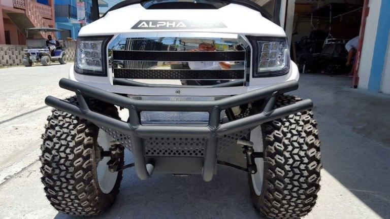 Alpha Series Custom Body for Precedent Golf Carts