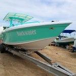 "Wahoo 30ft Boat, ""Back Water"""