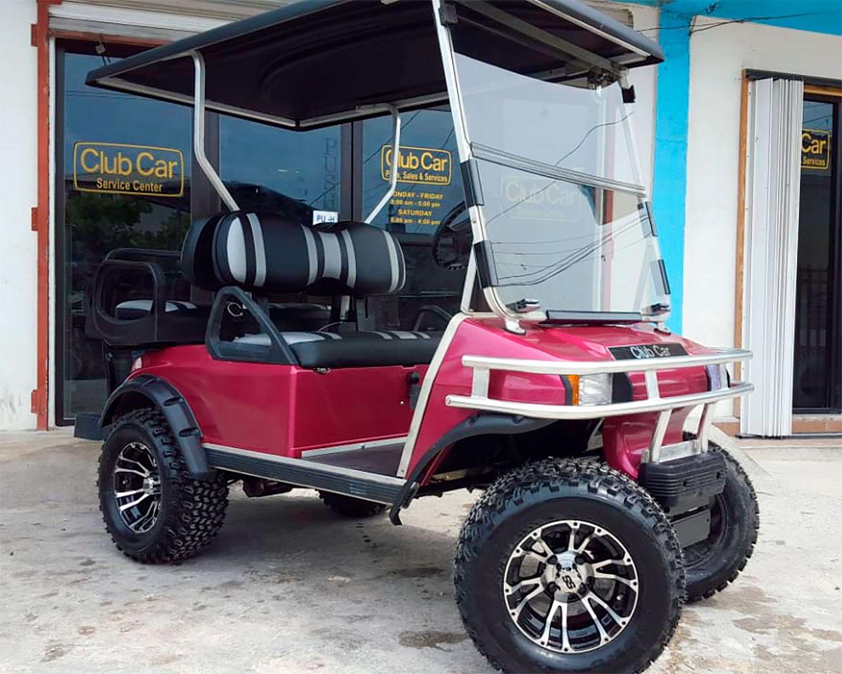 Used Club Car Customized Dynamo Villager 4 Golf Cart