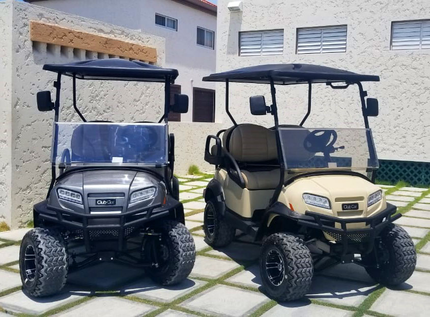Onward Golf Cart Purchased by Mirab's