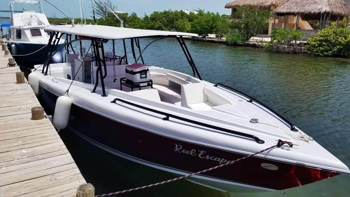 Captain Sharks Bluefin 38 Boat Reel Escape