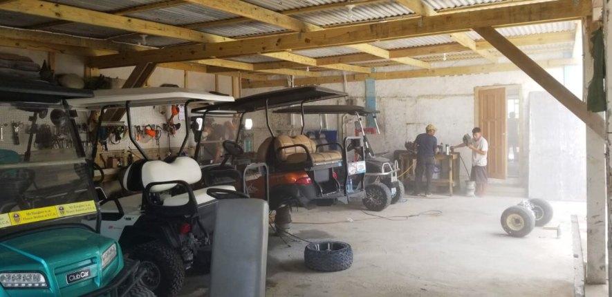 Captain Sharks Garage Area Expansion