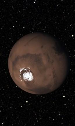 Marte, visto en la galería de fotos.