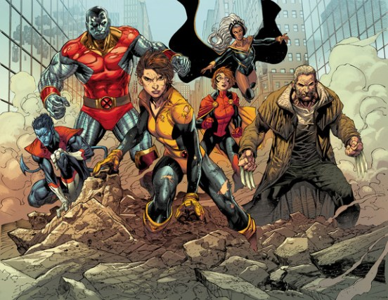 Panel from X-MEN GOLD #1