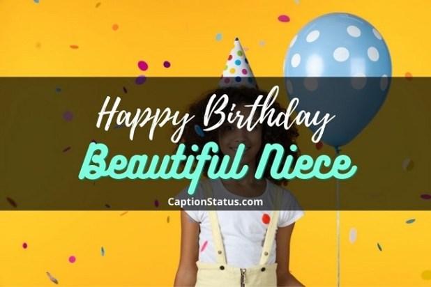 Happy birthday Beautiful Niece - CaptionStatus