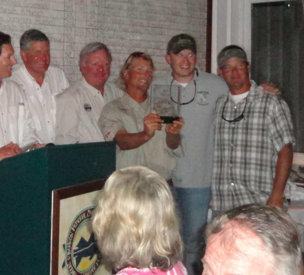 Awards Ceremony, Cabbage Key Snook Tournament, Sanibel & Captiva Fishing Charters, May, 2012.