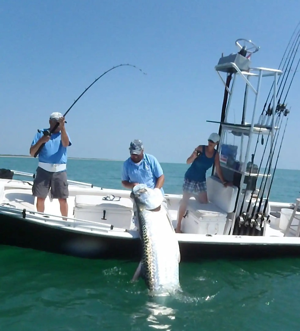 Jimmy, Tarpon, Boca Grande Pass, Sanibel & Captiva Islands & Fort Myers Charters & Fishing Guide Service.
