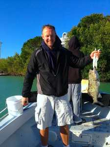 Grouper caught in Blind Pass, Sanibel & Captiva Islands & Fort Myers Charters & Fishing Guide Service.