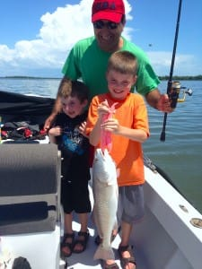 Nice Redfish caught off the Sanibel oyster bar, Sanibel & Captiva Islands & Fort Myers Charters & Fishing Guide Service.
