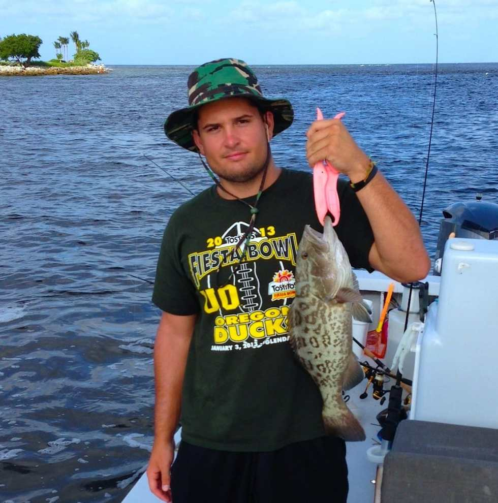Grouper caught in Redfish Pass, Sanibel & Captiva Islands & Fort Myers Charters & Fishing Guide Service.