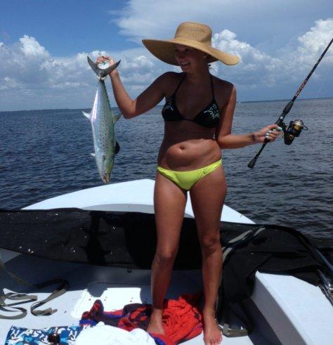Spanish Mackerel caught in Redfish Pass, Sanibel & Captiva Islands & Fort Myers Charters & Fishing Guide Service.