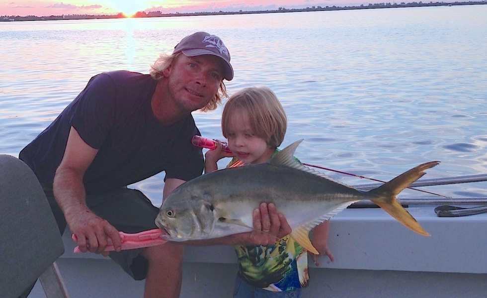 Big Jack caught in Redfish Pass, Sanibel & Captiva Islands & Fort Myers Charters & Fishing Guide Service.