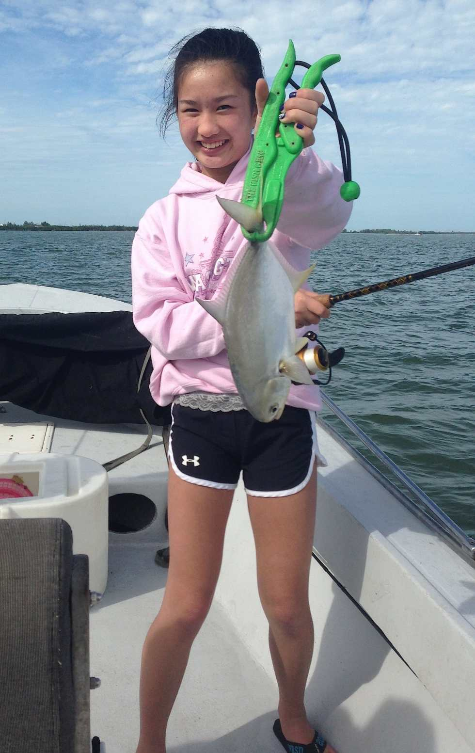 Jack Crevalle, North Captiva, 12-26-13, Sanibel & Captiva Islands & Fort Myers Charters & Fishing Guide Service.