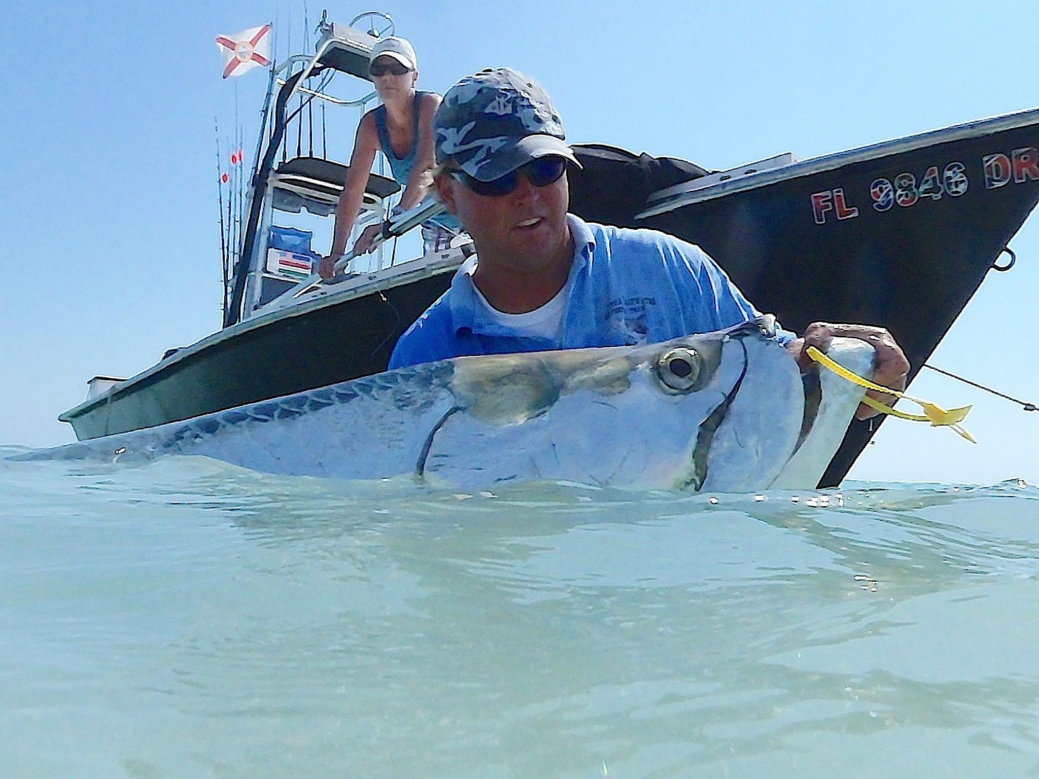 Sunday 1 12 14 captiva fishing report tarpon fishing for Boca grande tarpon fishing