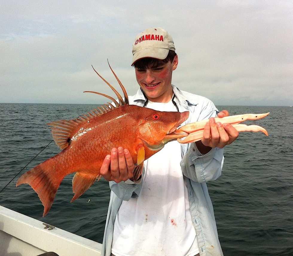 Hog Snapper, Charlie, 2-8-14, Sanibel & Captiva Islands & Fort Myers Charters & Fishing Guide Service.