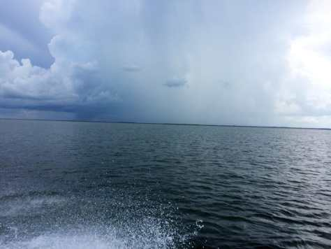 Rain, 9-23-14, Sanibel & Captiva Islands & Fort Myers Charters & Fishing Guide Service.