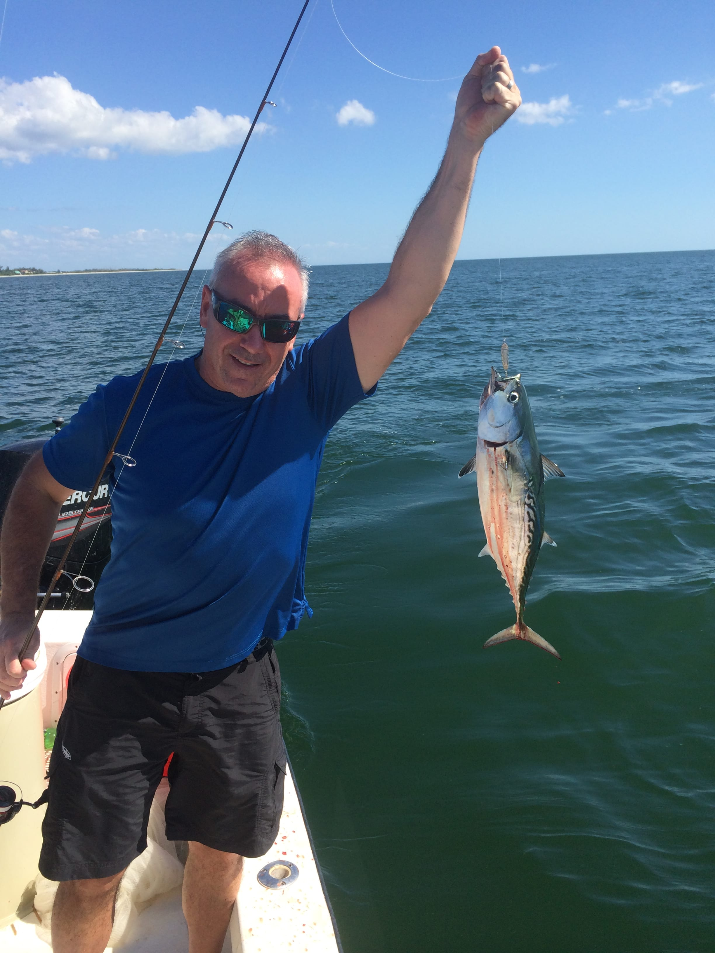 Captiva fishing report false albacore little tunny for Fishing in fort myers