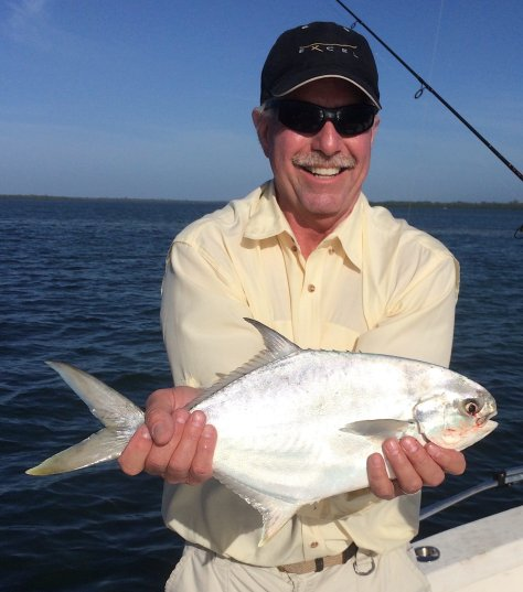 Pompano, Inshore, Sanibel Fishing & Captiva Fishing, Monday, 1-4-16 ~ #Sanibel #Captiva.