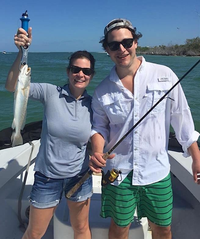 More Sea Trout Fishing, Grass Flats, Sanibel Fishing & Captiva Fishing, Friday, April 29, 2016.