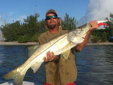 Big Snook, Catch & Release, Sanibel Fishing & Captiva Fishing, Saturday, October 1, 2016.