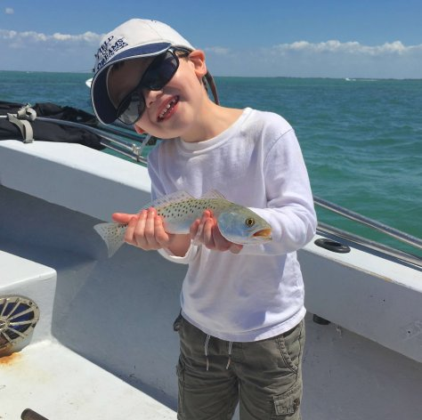 Sea Trout, Catch & Release, Sanibel Fishing & Captiva Fishing, Sanibel Island, Saturday, October 7, 2017, [File Photo: Thursday, March 30, 2017].