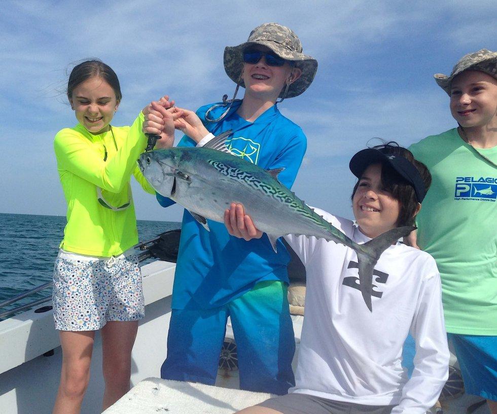 Little Tunny, False Albacore Tuna, Little Tuna, Sanibel Fishing & Captiva Fishing, Sanibel Island, Thursday, April 19, 2017.