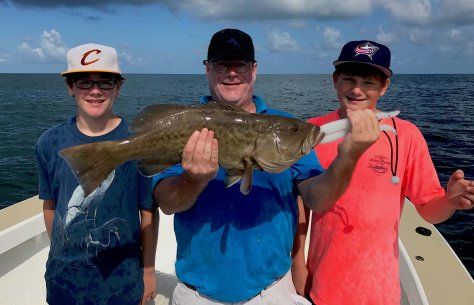 Grouper, Sanibel Fishing & Captiva Fishing, Sanibel Island, Thursday, December 21, 2017 [File Photo - Tuesday, June 20, 2017].