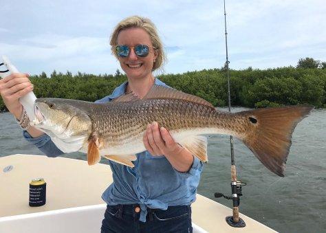 Redfish, Sanibel Fishing & Captiva Fishing, Sanibel Island, Wednesday, June 21, 2017.