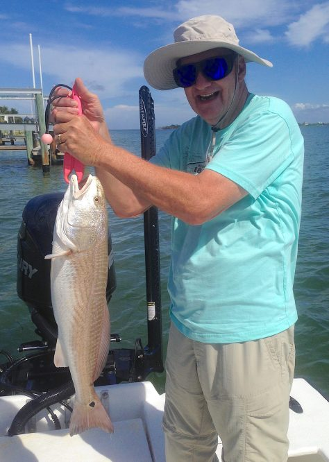 Redfish, Sanibel Fishing & Captiva Fishing, Sanibel Island, Saturday, September 23, 2017.