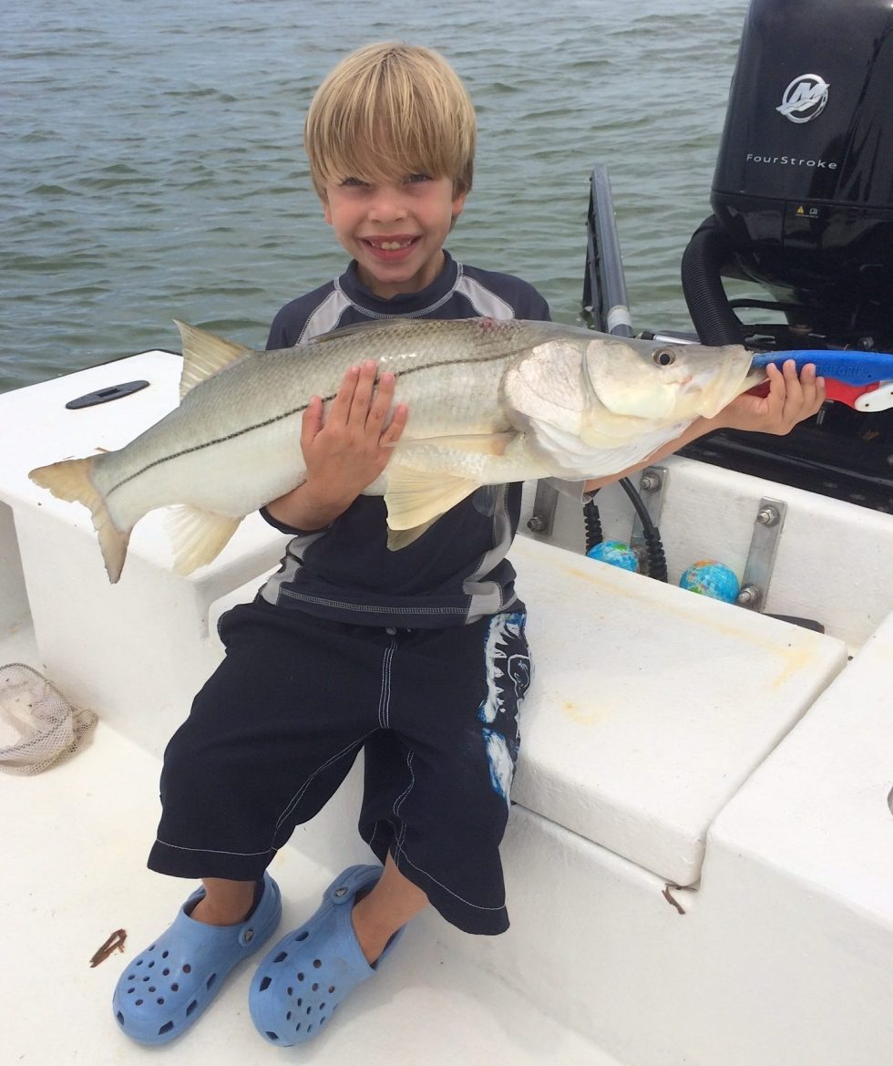 Snook, Shelling & Smiles, Sanibel Fishing & Captiva Fishing, Sanibel Island, Friday, September 29, 2017, [File Photo: Sunday, September 17, 2017].