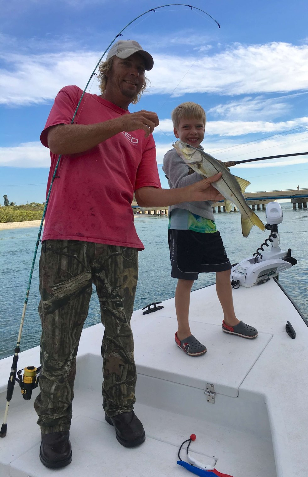 Snook Fishing, Blind Pass, Catch & Release, Sanibel Fishing & Captiva Fishing, Sanibel Island, Friday, December 2, 2017.