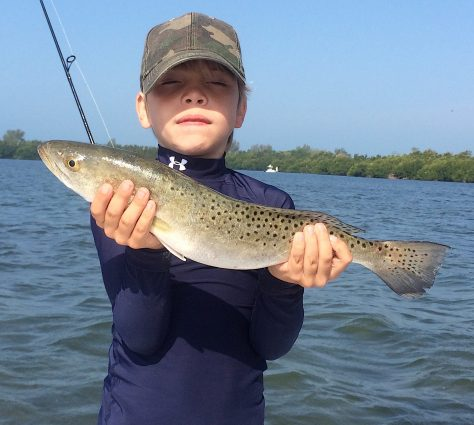 SeaTrout, Catch & Release, Sanibel Island Fishing Charters & Captiva Island Fishing Charters, Sanibel Island, Friday, March 23, 2018.
