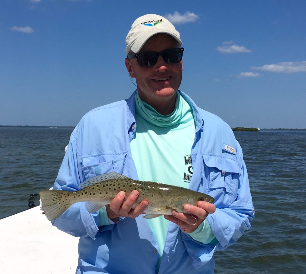 SeaTrout, Catch & Release, Sanibel Island Fishing Charters & Captiva Island Fishing Charters, Sanibel Island, Friday, May 4, 2018.