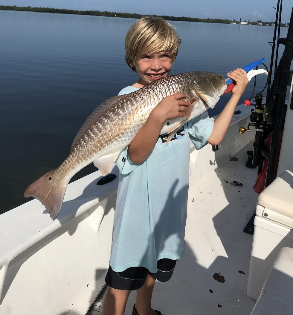 Redfish, Alex, Catch & Release, Sanibel Island Fishing Charters & Captiva Island Fishing Charters, Sanibel Island, Monday, June 4, 2018.