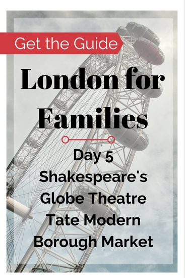 London things to do on a family travel budget. Buy the London City Guide for Families for free and cheap London things to do near Southbank & Southwark. Visit the Museum of London-Docklands, Shakespeare's Globe Theatre, Borough Street Market.