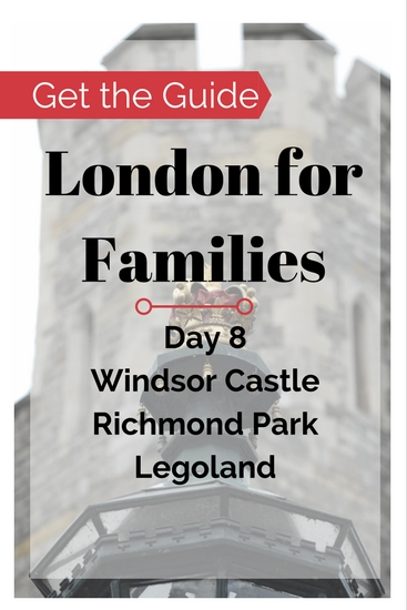 London for Families City Guide - Windsor has things to do on a family travel budget. Buy the London City Guide for Families for free and cheap London things to do in Greater London: Windsor Castle, Richmond Park, Legoland.