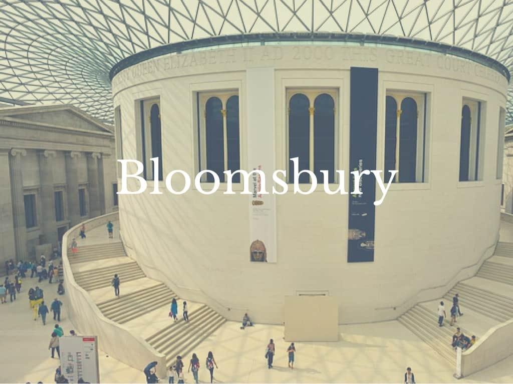 London Neighborhoods you should visit Bloomsbury