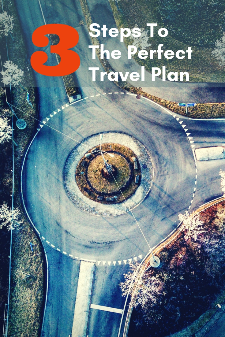 Travel is an adventure. It starts with a dream and a passion to go. Come find out  the 3 steps to the perfect travel plan!