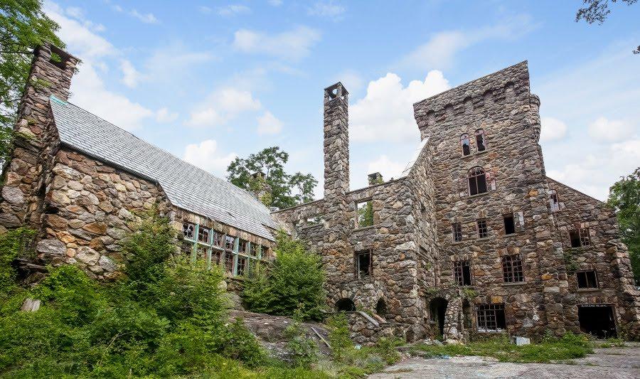 1927 Abandoned Elda Castle In Ossining New York