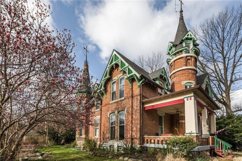 1876 Historic Victorian Gothic House For Sale In Indianapolis ...